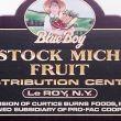 Comstock Michigan Fruit: Leroy, NY