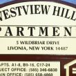West View Hills Apartments: Livonia, NY