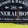 Robinson and Hackemer Funeral Home: Warsaw, NY