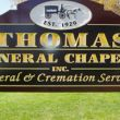 Thomas Funeral Chapel, Charlotte, NY