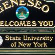 Geneseo Entrance Sign: Geneseo, NY 14454